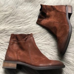 New Paul Green Brown Short Ankle Boots 3.5 6